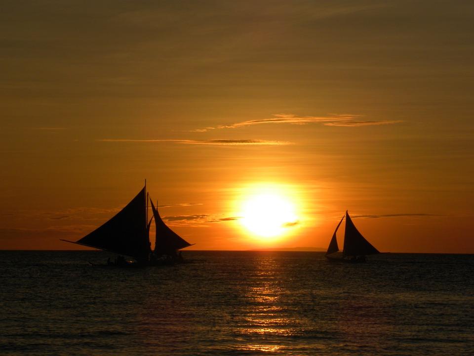 Voyage en mer