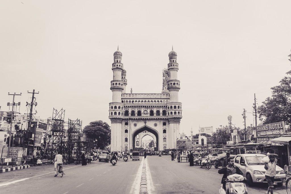 Charminar en Inde