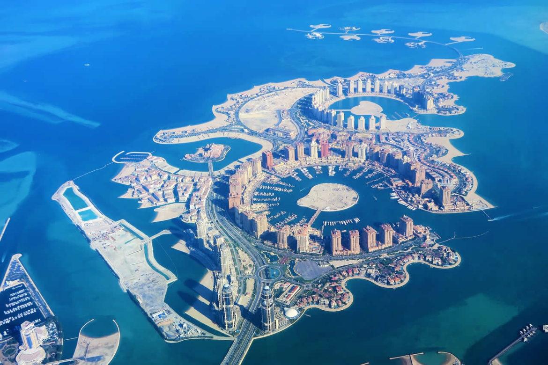 La ville de Doha au Qatar
