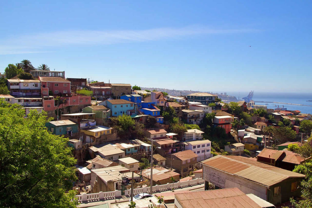 Valparaiso au Chili