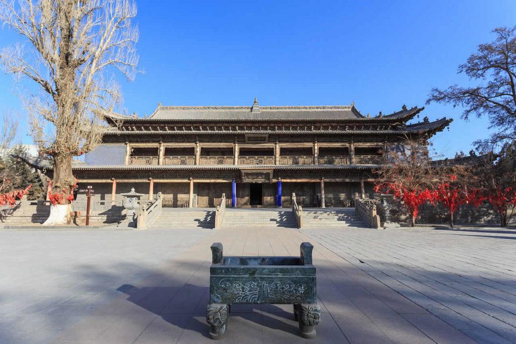 Ville de Zhangye Chine