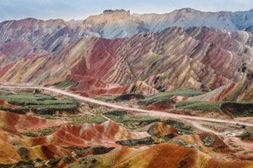 Zhangye Chine route de la soie