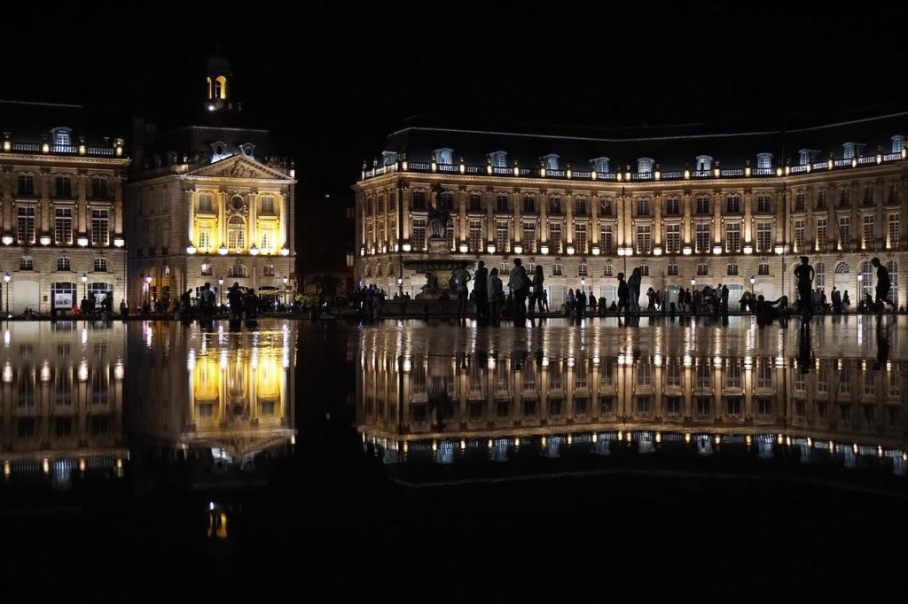 Bordeaux miroir eau France