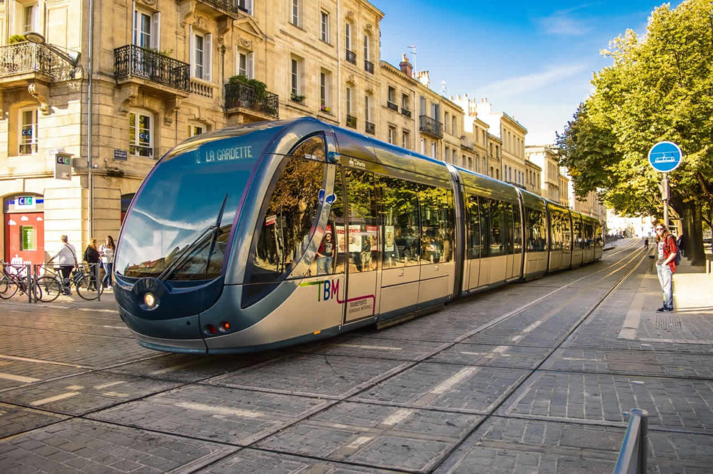 Bordeaux transport en commun France