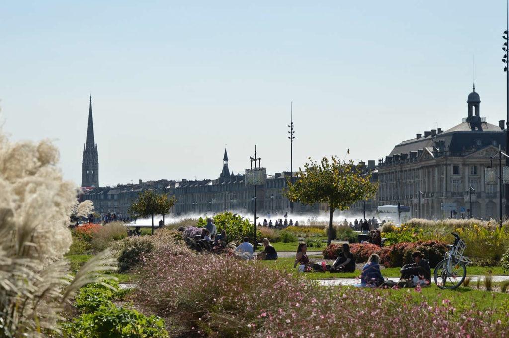 Bordeaux ville France